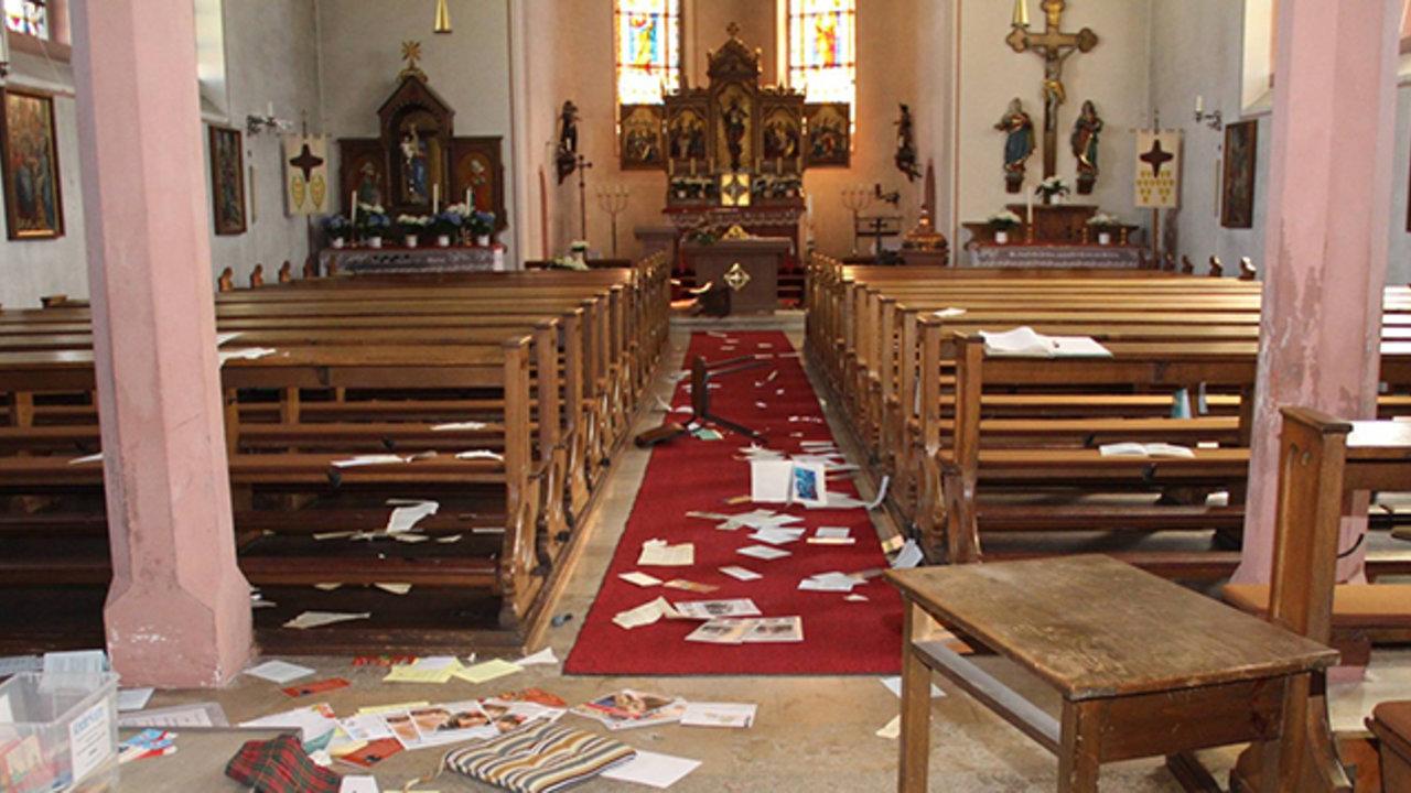 Kirche Verwüstet